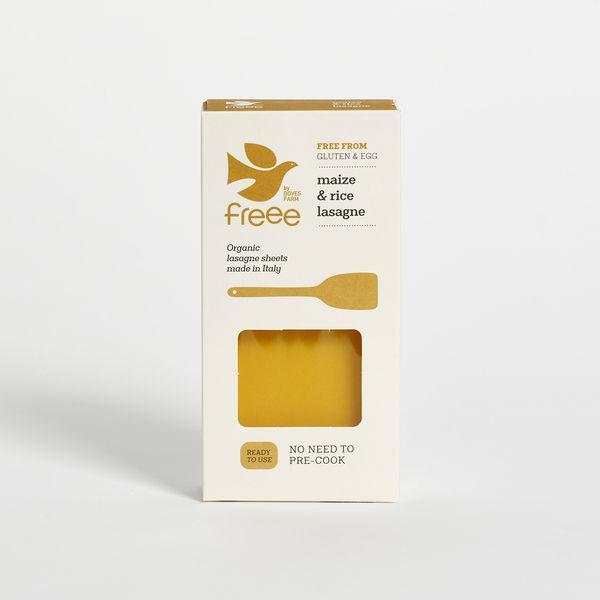 Maize & Rice Lasagne egg free, Gluten Free, ORGANIC