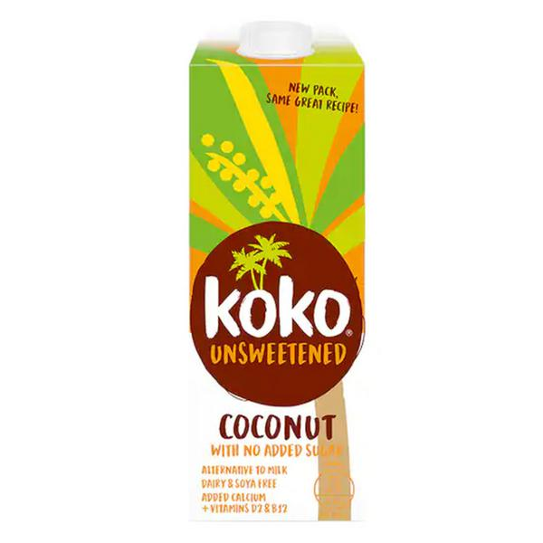 Unsweetened Coconut Milk dairy free, no sugar added