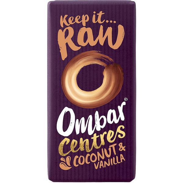 Coconut & Vanilla Raw Chocolate ORGANIC