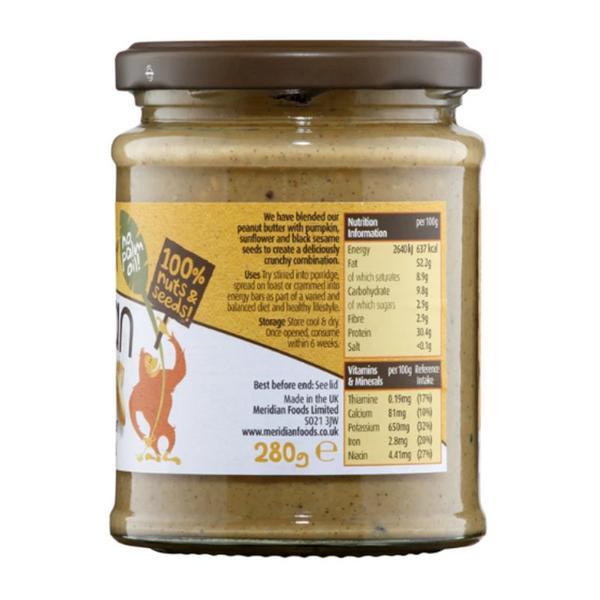 Peanut Butter With Seeds no added salt image 2