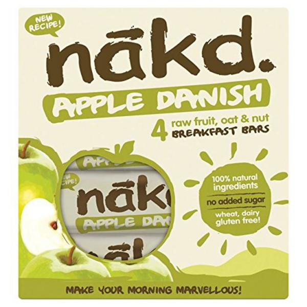 Apple Danish Snackbar Multipack Gluten Free, Vegan