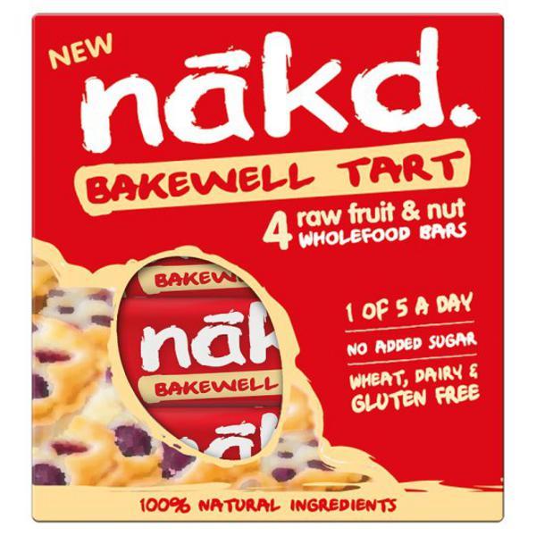 Bakewell Tart Snackbar Multipack Gluten Free, Vegan, wheat free