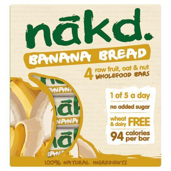 Banana Bread Snackbar Multipack Gluten Free, Vegan