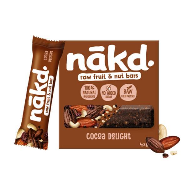 Cocoa Delight Snackbar Multipack Gluten Free, Vegan
