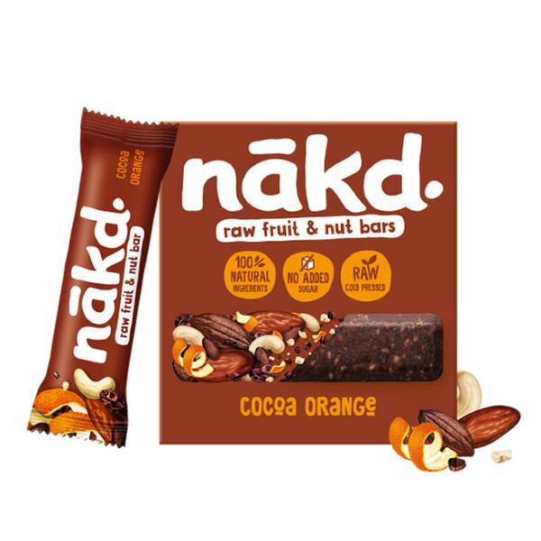 Cocoa Orange Snackbar Multipack Gluten Free, Vegan