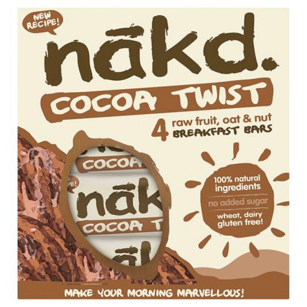 Cocoa Twist Snackbar Multipack Gluten Free, Vegan