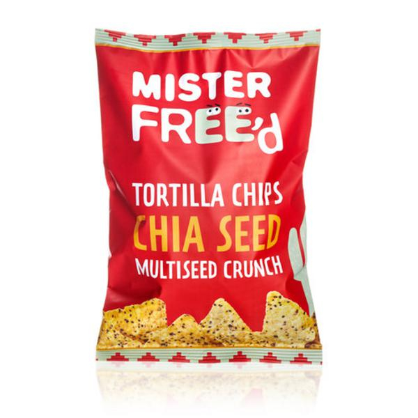 Tortilla Chips with Chia Gluten Free