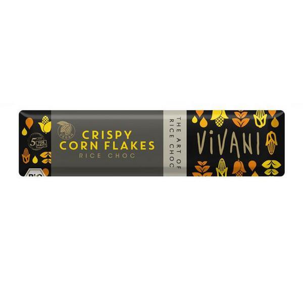 Crispy Corn Flakes Rice Chocolate Vegan, ORGANIC