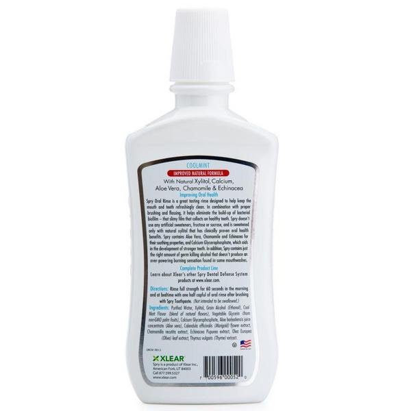 Spry Oral Rinse With Xylitol Mouthwash  image 2