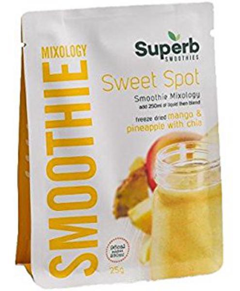 Sweet Spot Smoothie Mix Gluten Free, no sugar added, Vegan