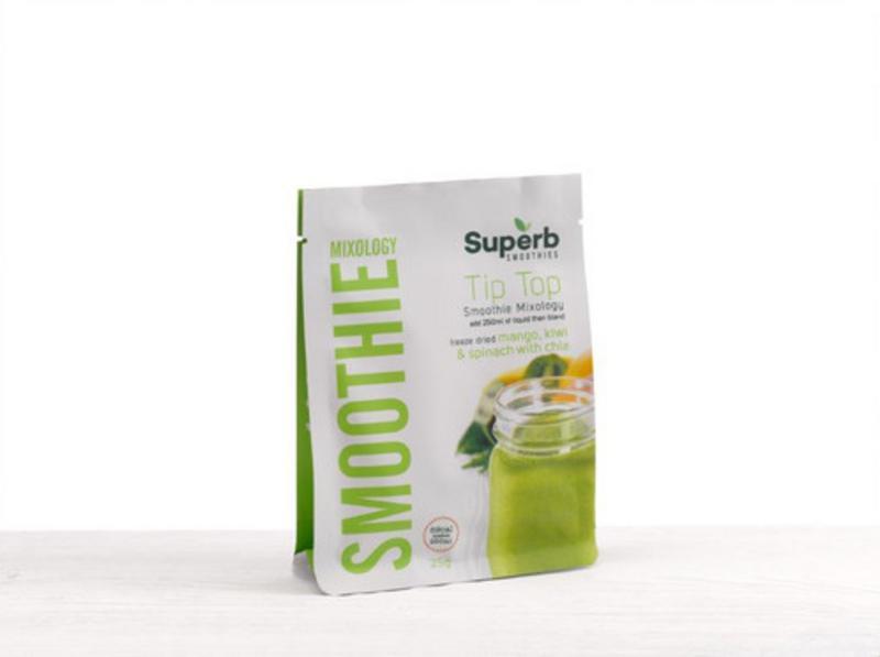 Tip Top Smoothie Mix Gluten Free, no sugar added, Vegan