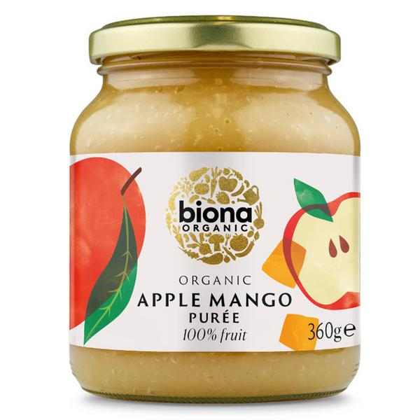 Apple & Mango Puree no added sugar, ORGANIC