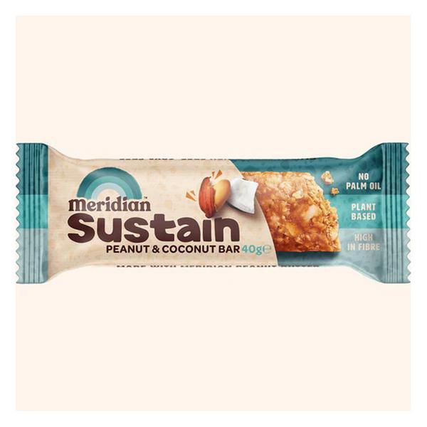 Peanut & Coconut Snackbar Gluten Free, Vegan