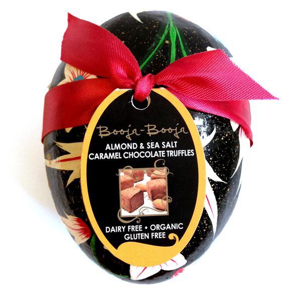 Almond & Sea Salt Easter Egg Vegan, ORGANIC image 2