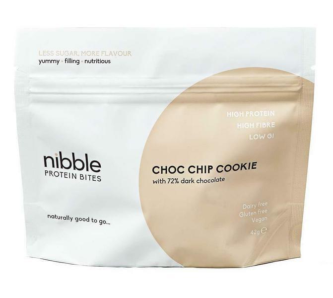 Chocolate Chip Cookie 72% Dark Chocolate Bites Vegan