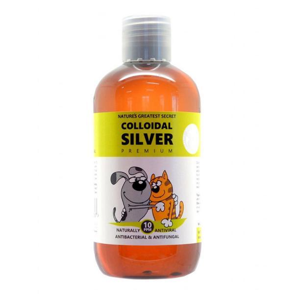 Colloidal Silver Bottle For Pets Vegan