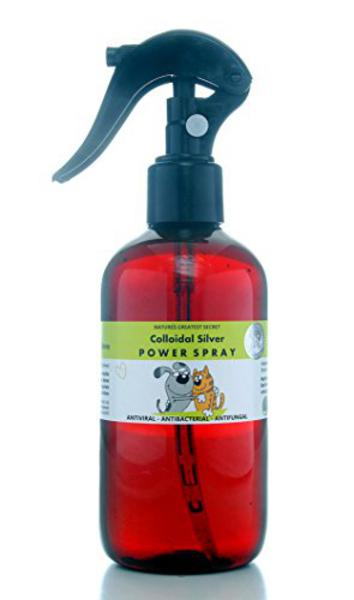 Antibacterial Spray For Pets Colloidal Silver