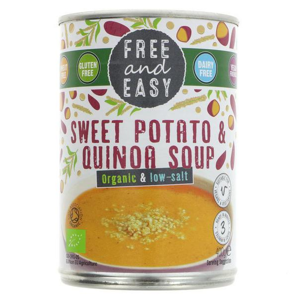 Sweet Potato & Quinoa Soup Vegan, ORGANIC