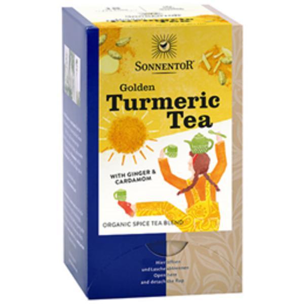 Golden Turmeric,Ginger & Cardamom Tea ORGANIC