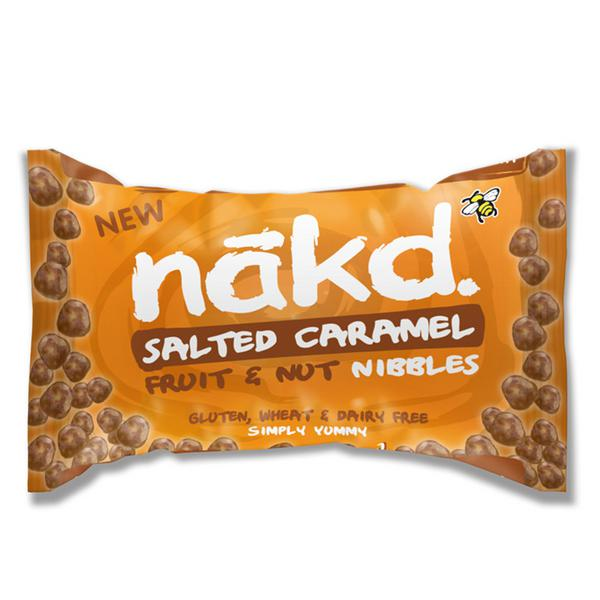 Salted Caramel And Chocolate Bites In 40g From Nakd