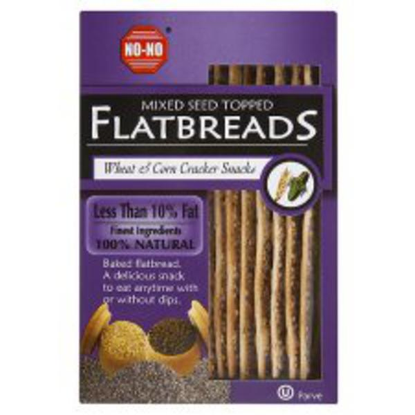 Mixed Seed Flatbread Vegan
