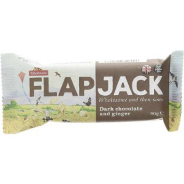 Dark Chocolate & Ginger Flapjack