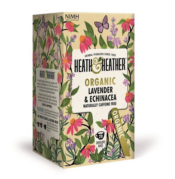 Lavender & Echinacea Herb Tea ORGANIC