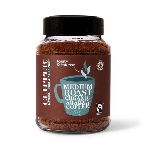 Instant Arabica Coffee FairTrade, ORGANIC