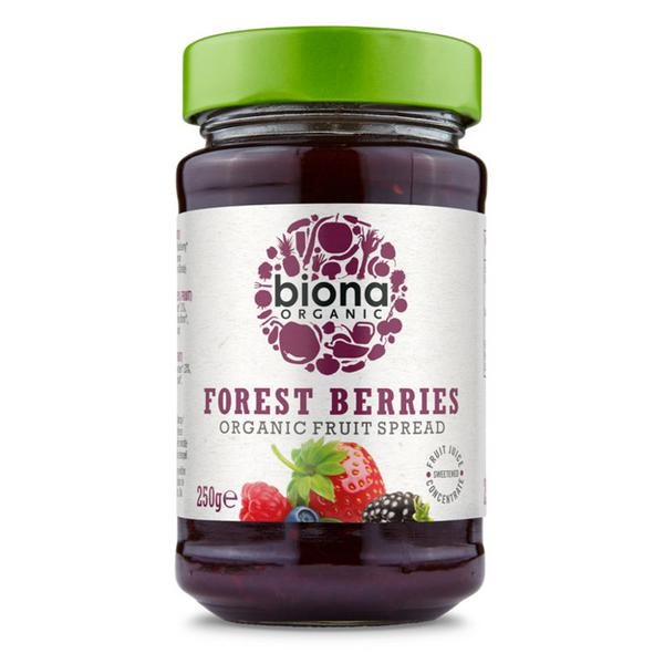 Forest Fruits Spread sugar free, Vegan, ORGANIC
