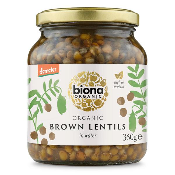 Lentils Brown Vegan, ORGANIC