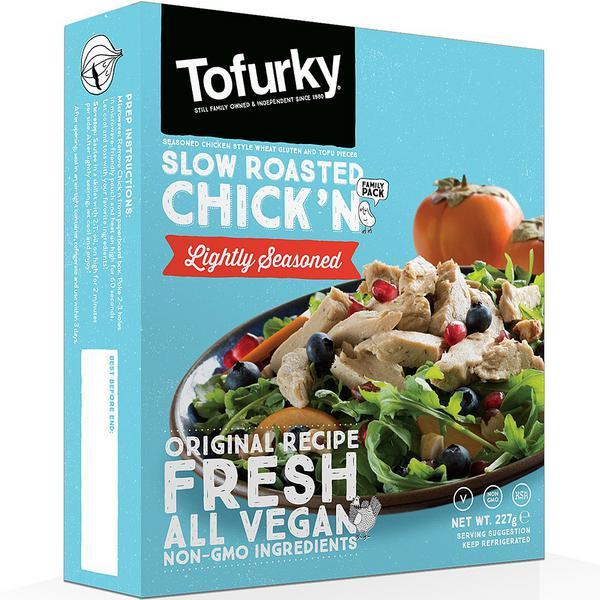 Lightly Seasoned Tofu