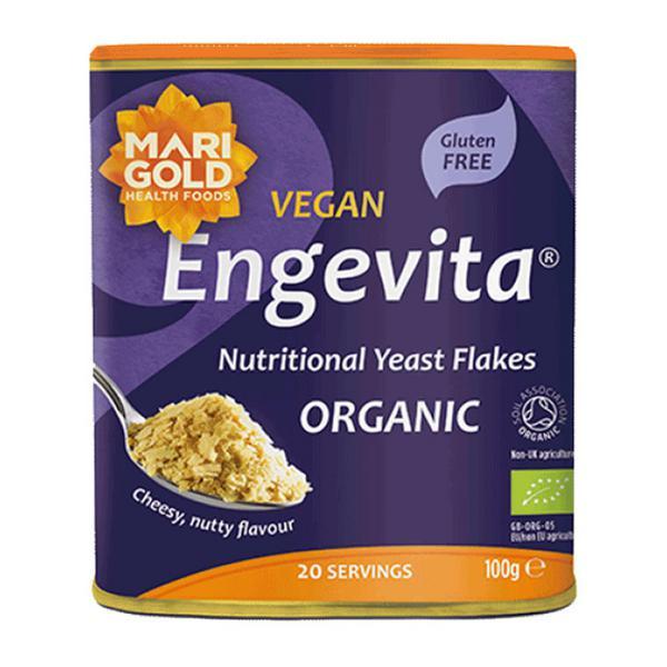 Engevita Yeast Flakes Vegan, ORGANIC