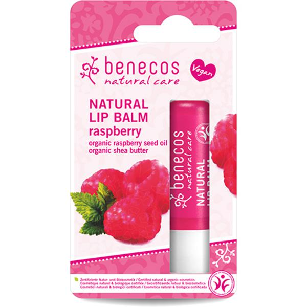 Natural Lip Balm Raspberry Vegan, ORGANIC