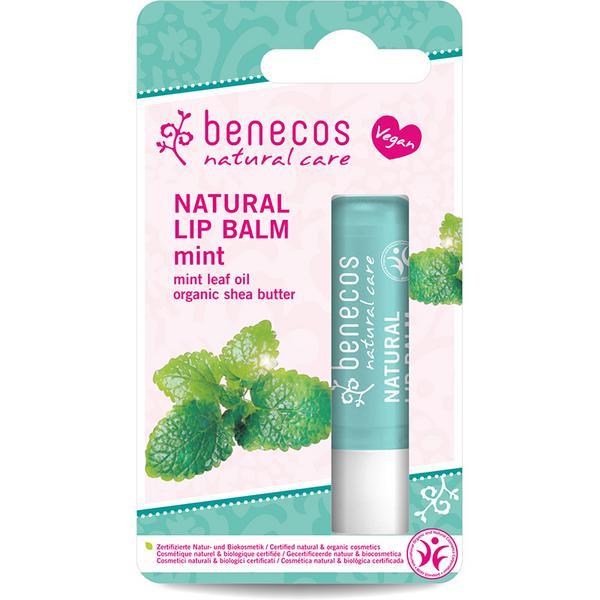 Natural Lip Balm Mint Vegan, ORGANIC