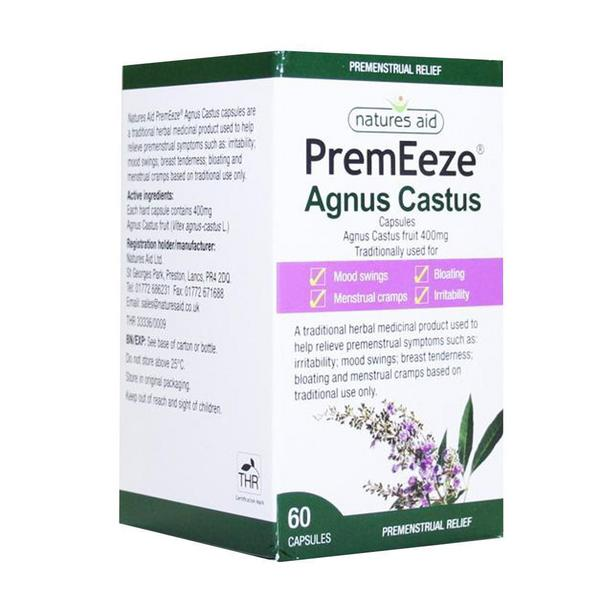 PremEeze Agnus Castus Herbal Medicine Vegan