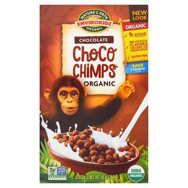 Choco Chimps Cereal ORGANIC