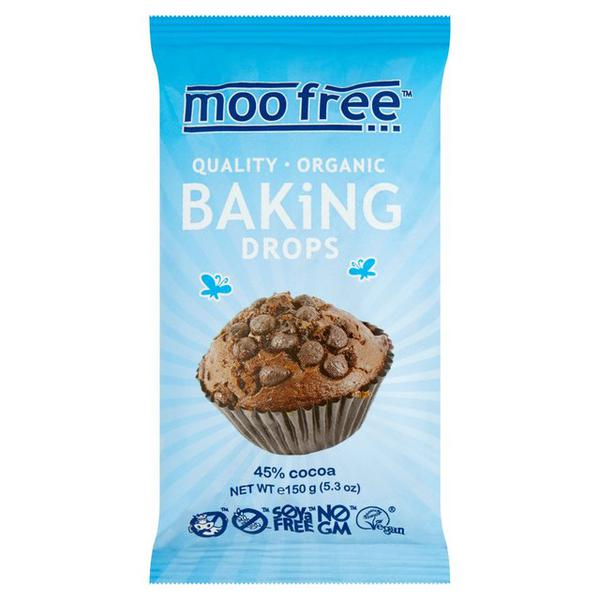 Baking Drops Alternative to Chocolate dairy free, Gluten Free, Vegan, ORGANIC
