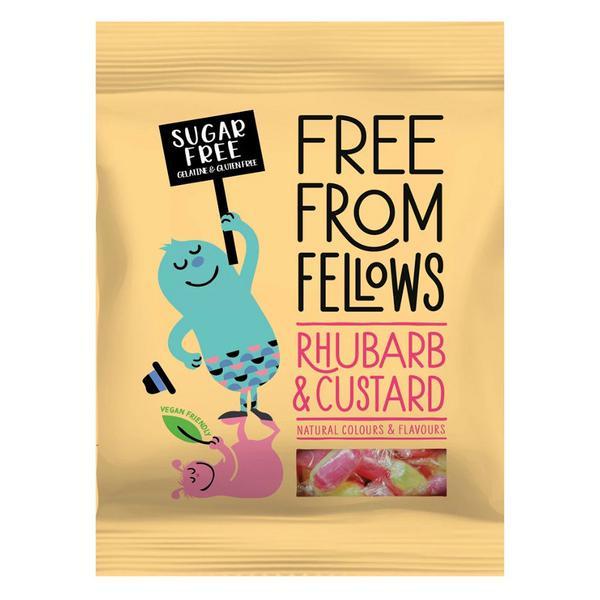 Rhubarb & Custard Sweets Gluten Free, Vegan