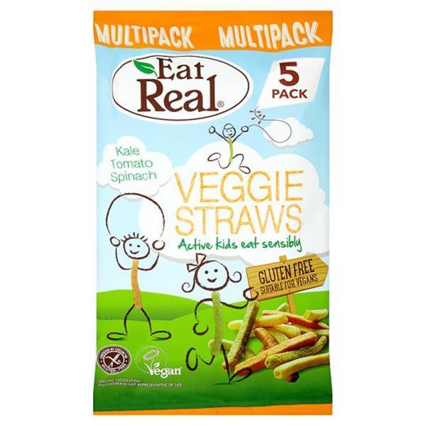 Veggie Straws Multipack Gluten Free, Vegan
