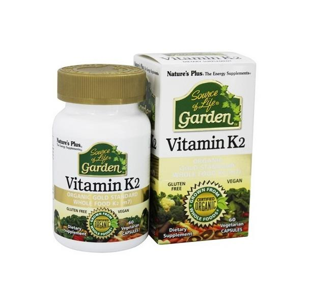 Source Of Life Garden Vitamin K2 ORGANIC