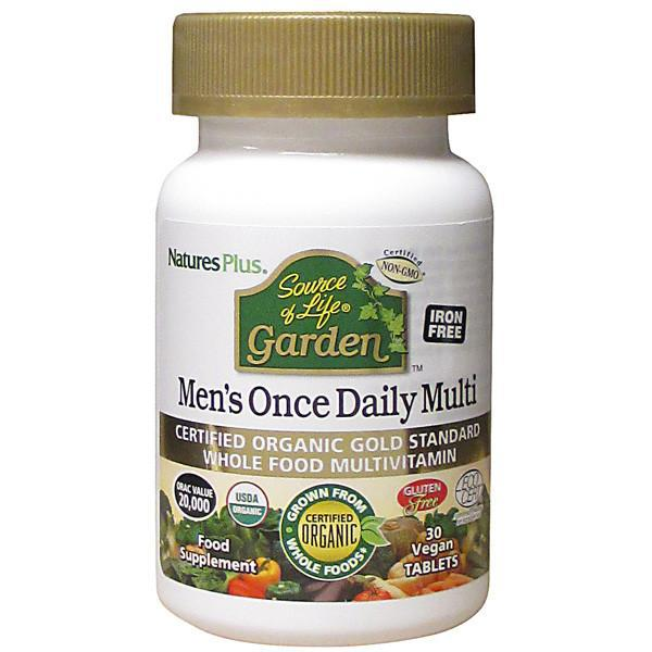 Source of Life Garden Men's Multi Vitamins ORGANIC