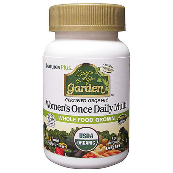 Source of Life Garden Women's Multi Vitamins ORGANIC