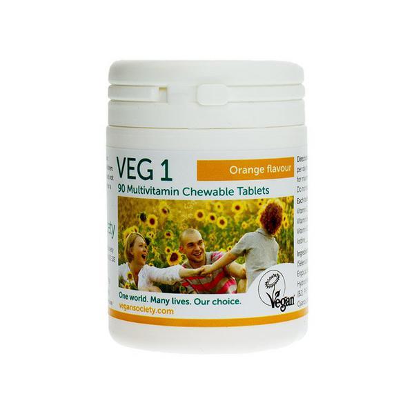 VEG 1 Orange Flavour Multi Vitamins Vegan