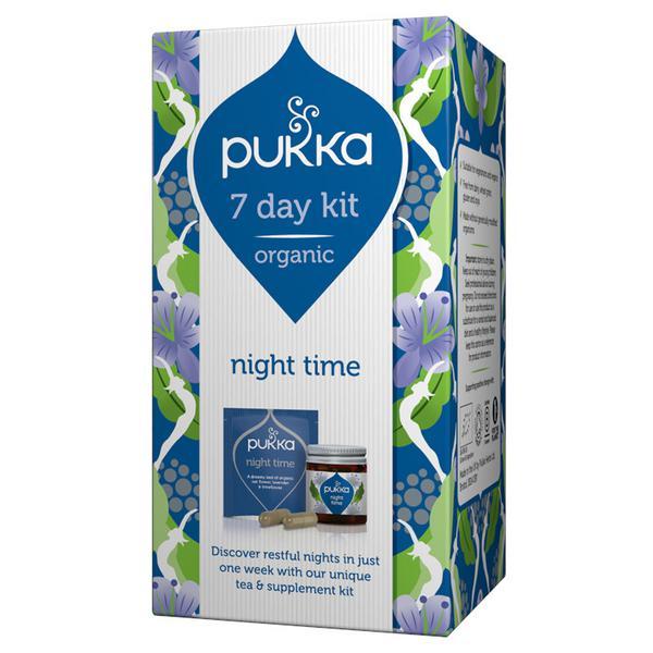 Night Time Supplement 7 Day Kit ORGANIC
