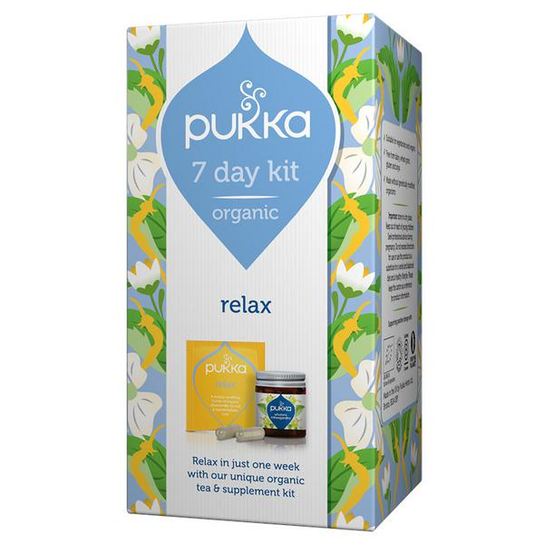 Relax Supplement 7 Day Kit ORGANIC