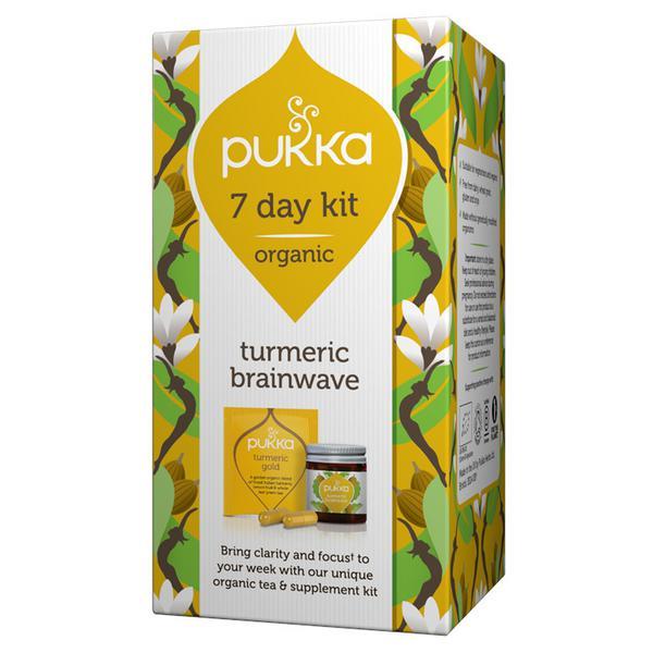 Turmeric Brainwave 7 Day Kit ORGANIC