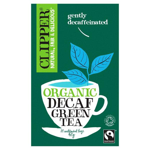 Green Tea Decaffeinated, FairTrade, ORGANIC