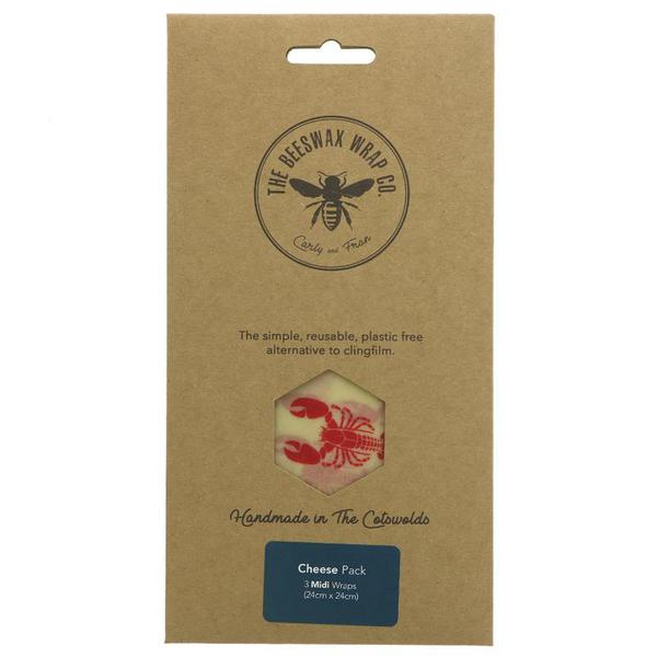 Cheese Pack Beeswax Wraps
