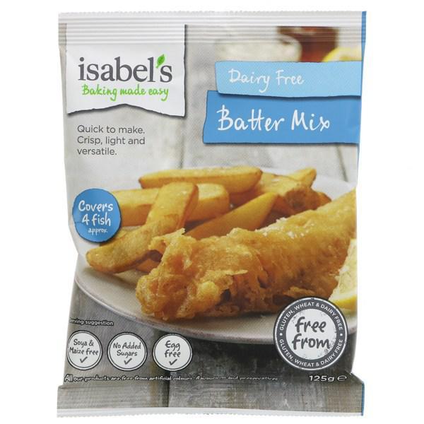 Batter Mix dairy free, Gluten Free, Vegan