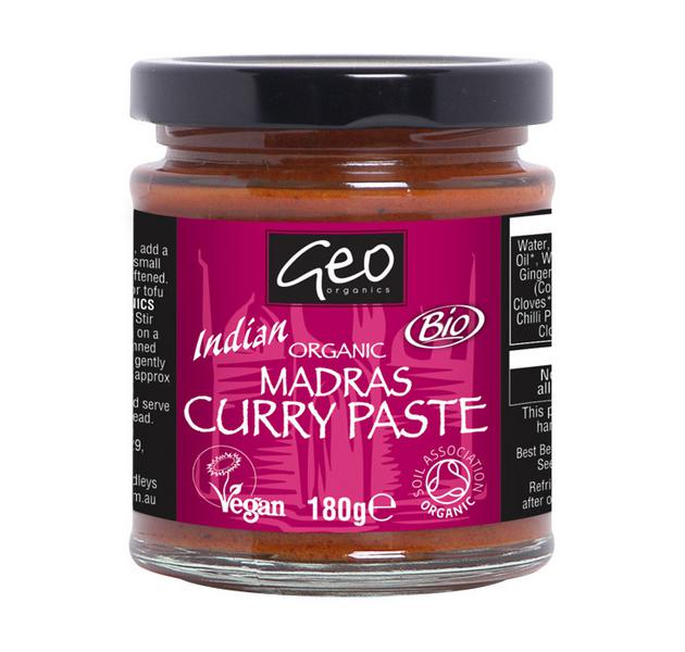 Madras Curry Paste ORGANIC